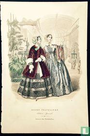 Deux femmes au jardin botanique (1848-1853)