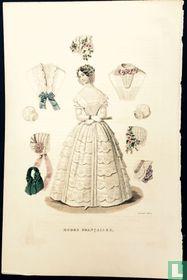 Robe et accesoires - Janvier 1850