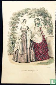 Deux femmes au jardin - Juillet 1849