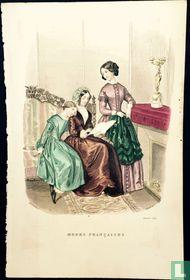 Deux femmes et une jeune fille - Janvier 1850