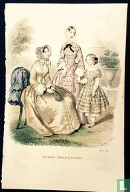 Deux femmes et une fille -Avril 1850