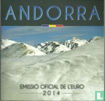 """Andorra mint set 2014 """"Govern d'Andorra"""""""