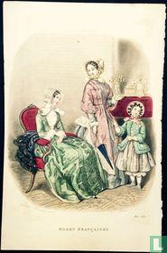 Deux femmes et une fille -Mars 1850