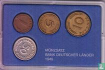 """Duitsland jaarset 1949 """"Bank Deutscher Länder"""""""