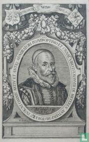 OPTIMO ET ORNAT. VIRO D. EMANUELI DE METEREN ANTVERP: HISTORICO INSIGNI OMNIU ARTIU ET ANTIQ. ADMIRATORI POSUIT