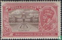 Initiation new capital New Delhi