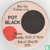 See the colour-s in Pot Black / Skol Lager