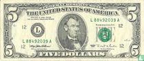 Verenigde Staten 5 dollars 1995 L