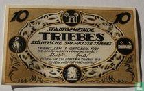 Triebes 10 Pfennig 1921