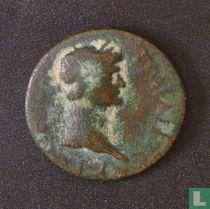 Romeinse Rijk, AE22, 98-117 AD, Trajanus, Korakesion, Cilicië