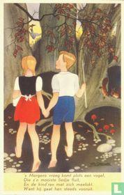 2. Hans en Grietje ontdekken het koekhuisje