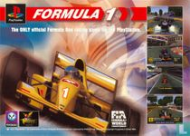 """Psygnosis """"Formula 1 The ONLY official Formula One racing game for the Playstation."""""""