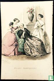Trois femmes au salon (1849-1853)