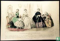 Quatre femmes et deux enfants (1850-1855) - 541