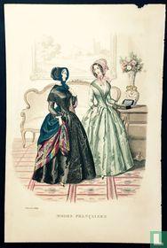 Deux femmes au Salon - Février 1849