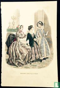 Une femme et deux filles + pages 127-128 - (1849-1852)