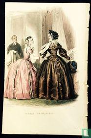 une femme et une jeune fille et Butler- 347