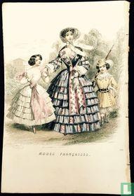 Une femme, un petit chasseur et une fille (1849-1853)- 332