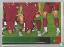elftalfoto Portugal (rechtsonder)