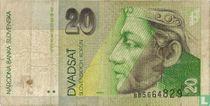 Slowakije 20 Korun (P20a)