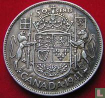 Canada 50 cents 1941