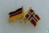 Vlaggen: Duitsland-Noorwegen