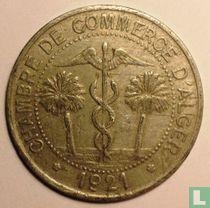 Algerije 10 centimes 1921 (met J. Bory)