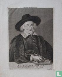PETRUS SCRIVERIUS Geboren te Haerlem den 12 January 1576. Overleden te Oudeater den 30 April 1660.