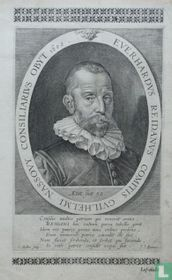 EVERHADRUS REIDANUS COMITIS GUILHELMI NASSOVY CONSILARIUS OBYT 1602.
