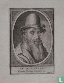 PETRUS TIARA, Eerste Rector Magnificus.