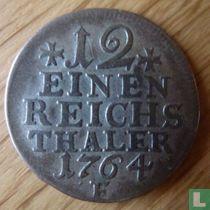 Pruisen 1/12 thaler 1764 (F)