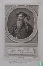 REINOUD DE III VAN BREDERODE, uit de Graven van Holland, Ridder van 't Gulden-Vlies. enz.