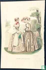 Deux femmes au jardin - Septembre 1849
