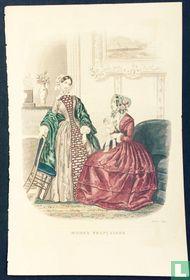 Deux femmes au salon - Octobre 1849