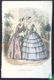 Deux femmes dans la veranda - Août 1850