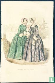 Deux femmes serrant la main - Octobre 1850