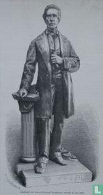 Standbeeld van JOHAN RUDOLPH THORBECKE, onthuld 18 Mei 1876.
