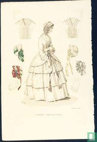 Une femme et chapeaux - Novembre 1850