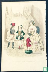 Une jeune femme au théatre - 1845-1850