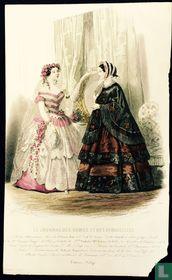 Modes d'Alexandrine; Deux femmes au salon (1850-1853) - 380