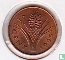 Swaziland 1 cent 1995