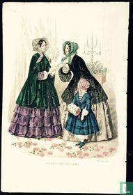 Deux femmes et une fille- Decembre 1850