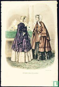 Deux femmes prêt à sortir - Novembre 1850