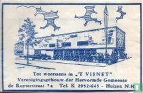 """"""" 't Visnet"""" Verenigingsgebouw der Hervormde Gemeente"""