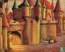 Prent Tom Poes blokkendoos  (kasteel)