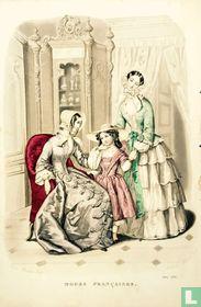 Deux femmes et une fille -Juin 1850