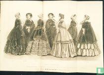 Etoffes pour robes et confections nouvelles pour l'hiver de 1852