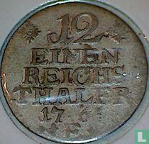 Pruisen 1/12 reichsthaler 1766 (E)