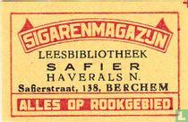 Sigarenmagazijn Safier - Haverhals N.