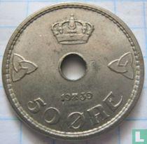 Norwegen 50 Øre 1939